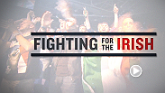 When Conor McGregor famously said that when one Irishman goes to war, the whole country goes to war, he wasn't joking. Hear from Fight Night Dublin hometown fighters Paddy Holohan, Cathal Pendred, and Aisling Daly talk about the Irish MMA fanbase.