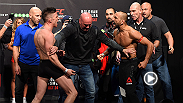 Watch the best highlights from Friday's weigh-ins from Dublin, Ireland, including heated staredowns between Cathal Pendred and Tom Breese, Reza Madadi and Norman Parke, and main event stars Paddy Holohan and Louis Smolka.