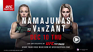 Two rising stars in the women's strawweight division are penciled into UFC Fight Night Las Vegas, as No. 3 Rose Namajunas and No. 6 Paige VanZant meet in the main event.