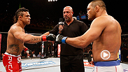 Dan Henderson took Fight One in Pride and Vitor Belfort made the series even with a knockout win at Fight Night Goiania in 2013. On Saturday, Belfort vs. Henderson square off at Fight Night Sao Paulo in an ultimate grudge match.
