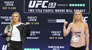 Go behind the scenes with Ronda Rousey, Holly Holm and all the stars of UFC 193 get ready to make history. Tune in to FOX Saturday November 7, 2015 at 2:00 PM ET/11:00 AM PT for UFC Embedded.