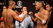Recapture the highlights from the official weigh-ins at Sao Paulo, featuring