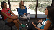 Megan Olivi sits down with female champions Joanna Jedrzejczyk and Ronda Rousey, ahead of their historic UFC 193 event on Sat. Nov. 14. in Melbourne, Australia.