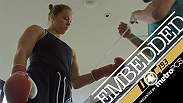 Joanna Jedrzejczyk and Antonio Silva show off their fight week diets, Valerie Letourneau and Ronda Rousey get a workout in, Mark Hunt, Uriah Hall, Holly Holm and more make an appearance in UFC 193 Embedded Episode 3.