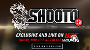 Jason Chambers and guest color commentator Michael Bisping host another stacked Shooto Brazil card live from Rio De Janeiro. The entire 10-fight card streams live and on demand, only on UFC FIGHT PASS, Friday, November 13 at 5:40am/2:40pm ETPT.