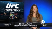 In this edition of UFC Fantasy Facts, UFC bantamweight contender Meisha tate picks her Draft Kings lineup for UFC 193: Rousey vs. Holm. To make your own Draft Kings picks, play online here:  http://www.draftkings.com/gateway?s=344188393