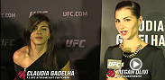 No. 1-ranked women's strawweight fighter Claudia Gadelha predicts the UFC 193 strawweight title fight between Joanna Jedrzejczyk and Valerie Letourneau.