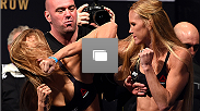 UFC 193 weigh-in at Etihad Stadium on November 14, 2015 in Melbourne, Australia.