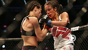 Joanna Jedrzejczyk and Valerie Letourneau had a five-round war at UFC 193 for the strawweight title. Jedrzejczyk survived and won by unanimous decision to defend her belt for the second time.