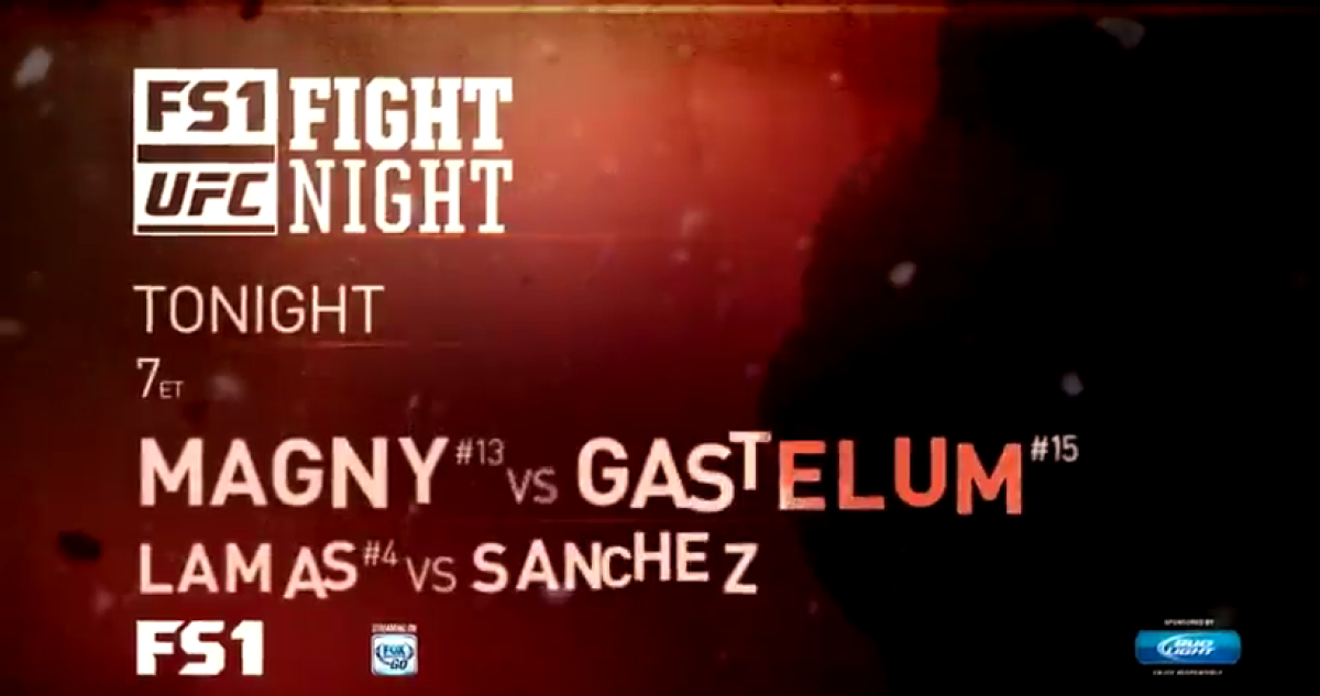 tonights fight ufc