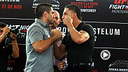 Joe Rogan previews the Fight Night Monterrey co-main event, featuring the No. 4-ranked featherweight Ricardo Lamas and Diego Sanchez, who makes his featherweight debut.