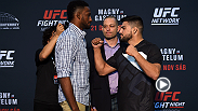 Check out the face-offs between Neil Magny and Kelvin Gastelum as well as Diego Sanchez and Ricardo Lamas who all throw down at Fight Night Monterrey on Saturday night.