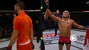 Enrique Barzola defeated rival Horacio Gutierrez by unanimous decision at Fight Night Monterrey to claim the TUF LATAM 2 lightweight trophy.