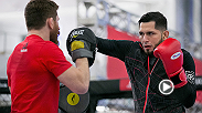 Jorge Masvidal is making his first main event appearance at Fight Night Seoul when he takes on Benson Henderson. He is just having fun with all the spotlight.