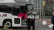 The second episode of four in the special Fight Night Seoul series, UFC Pulse, chronicles the fighters taking a trip to a local high school and features fighters Yair Rodriguez, Jon Tuck and more.