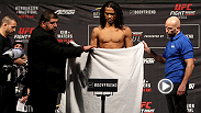 Check out the weigh-in highlight from Fight Night Seoul, featuring the staredown between headliners Benson Henderson and Jorge Masvidal, and don't miss any of the action on Saturday on UFC FIGHT PASS.