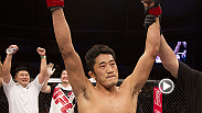 Dong Hyun Kim pt Dominic Waters in a crucifix mount early in the first round and later earned a TKO victory in his homeland of South Korea at Fight Night Seoul.