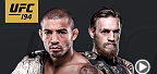 In what's become the most hate-filled feud in the UFC, the fight will finally go down at UFC 194 in Las Vegas when Jose Aldo defends his featherweight title against Conor McGregor. Also, Chris Weidman and Luke Rockhold will vie for middleweight title.