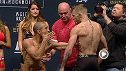 Watch the UFC 194 official weigh-in live on Friday, Dec. 11 at 6pm/3pm ETPT.
