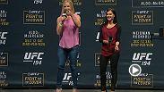 Watch the UFC 194 Q&A with Holly Holm on Friday, Dec. 11 at 4pm/1pm ETPT.