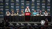 Jose Aldo, Conor McGregor, Chris Weidman, Luke Rockhold, Frankie Edgar, and Chad Mendes took part in the UFC 194/The Ultimate Fighter 22 Finale pre-fight press conference at MGM Grand on Wednesday. Hear the highlights from the event.