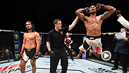 UFC correspondent Megan Olivi catches up with Thiago Santos to talk about his huge decision victory against Elias Theodorou at Fight Night Las Vegas.