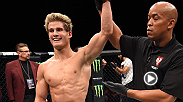 Rising superstar Sage Northcutt pulled off another victory in just his second Octagon appearance at Fight Night Las Vegas. The Cady, Tx. product spoke to UFC correspondent Megan Olivi backstage about his performance.