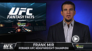 In this edition of Draft Kings Fantasy Facts, Frank Mir picks his top five fighters for UFC 194: Aldo vs. McGregor