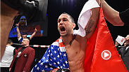 UFC star Frankie Edgar spoke inside the Octagon after his jaw-dropping knockout finish against Chad Mendes in the main event of The Ultimate Fighter 22 Finale.