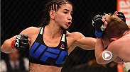 "Tecia Torres lived up her to nickname at UFC 194. ""The Tiny Tornado"" defeated UFC newcomer Jocelyn Jones-Lynbarger by unanimous decision with accurate striking throughout."