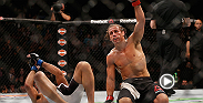 Urijah Faber is looking to make one final run at a bantamweight title and he inched closer to that goal after defeating Frankie Saenz at UFC 194. Hear Faber backstage after his unanimous decision victory.