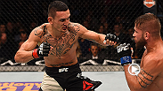 Max Holloway extended his winning streak to eight when he defeated Jeremy Stephens at UFC 194. The fifth-ranked Holloway defeated No. 8 Stephens by unanimous decision. Holloway's win streak is tied for first among active streaks in the UFC.