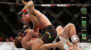 Demian Maia put on a beatdown of Gunnar Nelson at UFC 194. Maia won by unanimous decision with two scores of 30-25 and outstruck Nelson 218-6.