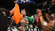Conor McGregor has delivered on another promise. Now, he gets to where the featherweight belt as the undisputed champion after knocking out Jose Aldo 13 seconds into Round 1. It's the fastest finish in UFC world title fight history.