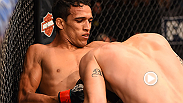 "Charles Oliveira spoiled Myles Jury's debut at featherweight. ""Do Bronx"" submitted Jury by guillotine in the first round at Fight Night: dos Anjos vs. Cowboy 2 in Orlando."
