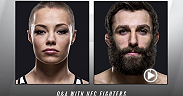 Watch the UFC 195: Q&A with Rose Namajunas and Michael Chiesa on Friday, Jan. 1 at 5pm/2pm ETPT at the Marquee Ballroom of the MGM Grand.