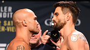 Watch the staredowns between Robbie Lawler & Carlos Condit and Stipe Miocic & Andrei Arlovski. Both sets of fighters meet in the main and co-main events at UFC 195 on Saturday, Jan. 2, 2016 at MGM Grand in Las Vegas only on Pay-Per-View.
