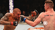 Dustin Poirier won his third fight in a row in his return to the lightweight division at UFC 196 on Saturday. Poirier won a bloody brawl with Joe Duffy on the FIGHT PASS prelims by unanimous decision.