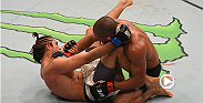 Brian Ortega improved to a perfect 10-0 record after his win over Diego Brandao at UFC 195. In need of a finish, Ortega completed a triangle submission of Brandao in the third and final round.