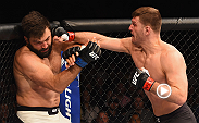 "Stipe Miocic made his intentions clear after he defeated Andrei Arlovski by TKO at UFC 195. ""I want my title shot!"" Miocic yelled at Dana White after his first-round victory of the former heavyweight champion."