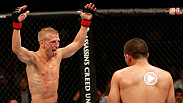 TJ Dillashaw attempts to defend his bantamweight title for the first time as a member of Elevation Fight Team in Boston on Jan. 17. Dillashaw left longtime coach and friend Urijah Faber and Team Alpha Male last October.