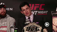 Hear the highlights from the Fight Night Boston press conference, including quotes from the new bantamweight champion Dominick Cruz and the former champ TJ Dillashaw.