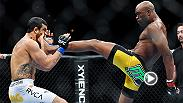 Anderson Silva finished Vitor Belfort at UFC 126 with one of the most epic knockouts in UFC history. Watch the front kick that KO'd Belfort and don't miss Silva vs. Michael Bisping on UFC FIGHT PASS Saturday, Feb. 27.