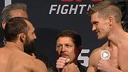 Watch the official weigh-in for Fight Night: Hendricks vs. Thompson
