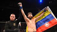 "Bryan Barberena did his own impersonation of Sage Northcutt's infamous flips after he submitted the UFC's youngest fighter at Fight Night New Jersey. Barberena earned a second round submission over ""Super Sage"" for just his second UFC win."