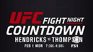 UFC Fight Night Countdown goes all-access inside the training camps of two of the world's best welterweights set to square off in Las Vegas. Don't miss Johny Hendricks and Stephen Thompson on Fight Night Countdown on Feb. 1 at 7:30p/4:30p ET/PT on FS1.