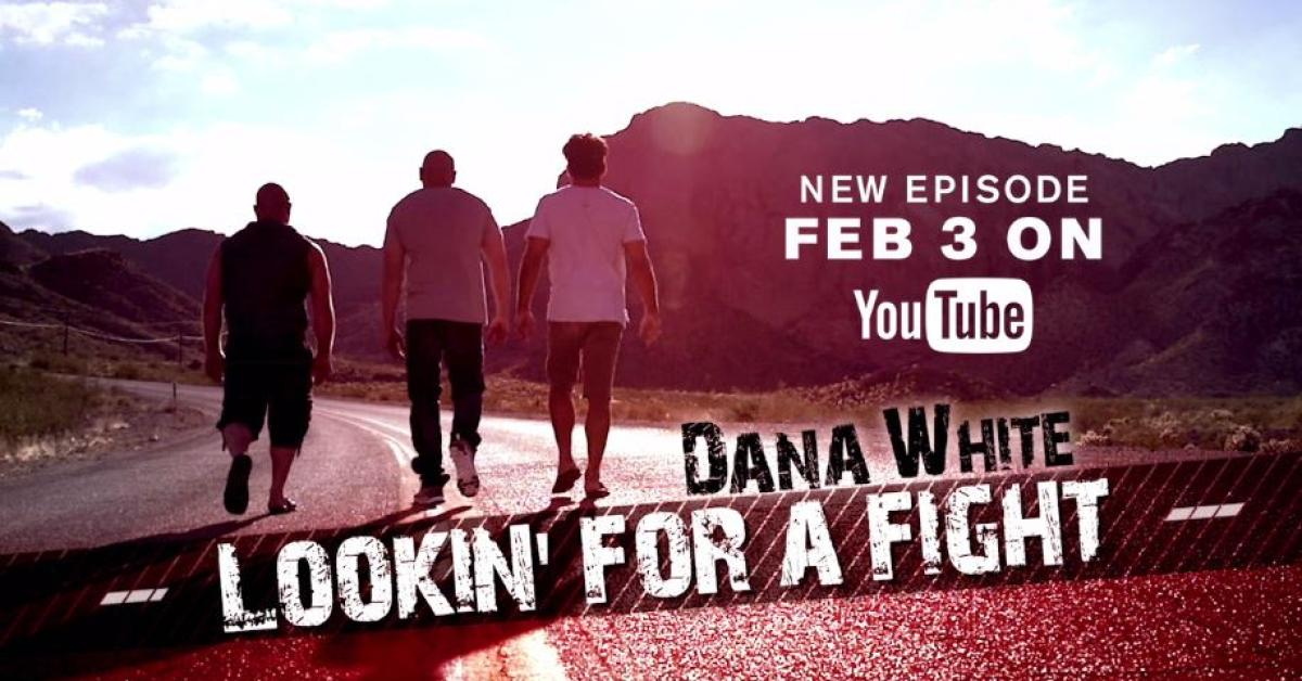 Dana white lookin for a fight alaska preview 2 ufc 174 media