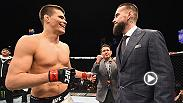 Mickey Gall talks inside the Octagon after beating Mike Jackson by rear naked choke submission in just 45 seconds of the first round of their UFC FIGHT PASS featured bout. Gall called out CM Punk once again and then spoke to him inside the Octagon.