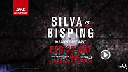 "UFC legend Anderson ""The Spider"" Silva returns to the Octagon to face Michael Bisping at Fight Night London live and streaming exclusively on UFC FIGHT PASS."