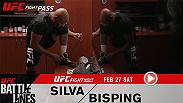 Take an intimate look at Anderson Silva and Michael Bisping as they get set to face off at UFC Fight Night London. Fans new and old alike will gain insight into their individual journeys before the long-awaited battle goes down, only on UFC Fight Pass